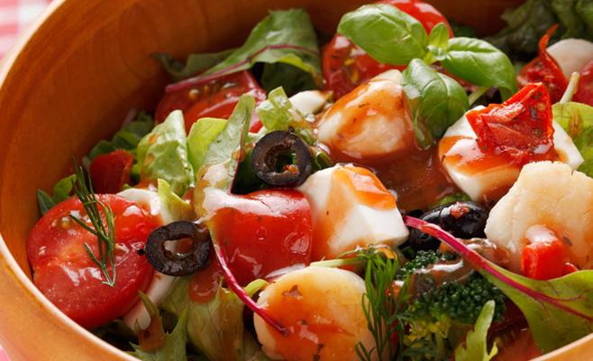 北海道野菜のソースドレッシング