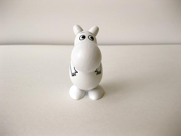 ムーミン木製人形