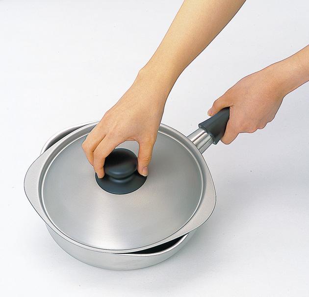 ステンレス・アルミ3層鍋
