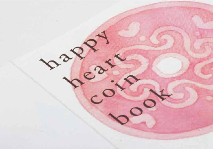 幸せを呼ぶコイン付メッセージカード