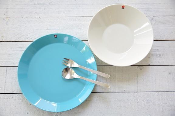 Teemaプレート26㎝+ボウル21㎝+柳宗理デザートスプーン+デザートフォーク