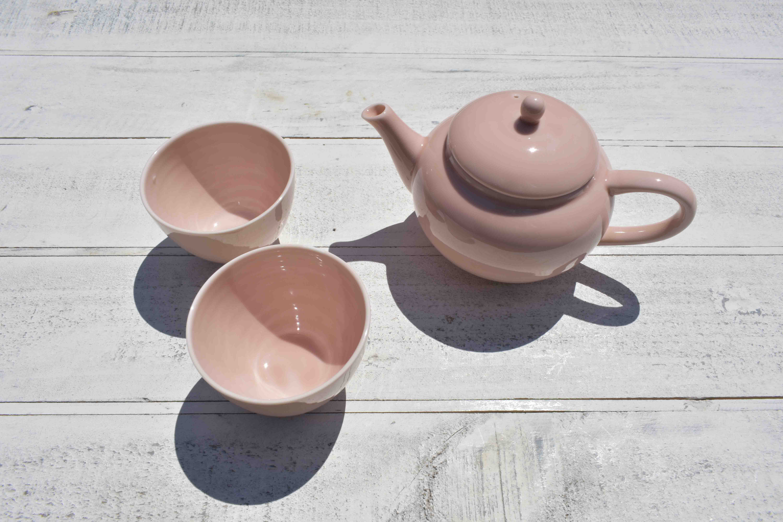 cosajiポット&煎茶碗セット